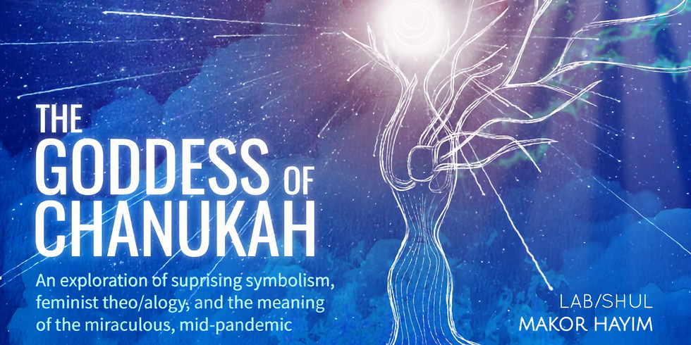 The Goddess of Chanukah with Lab/Shul
