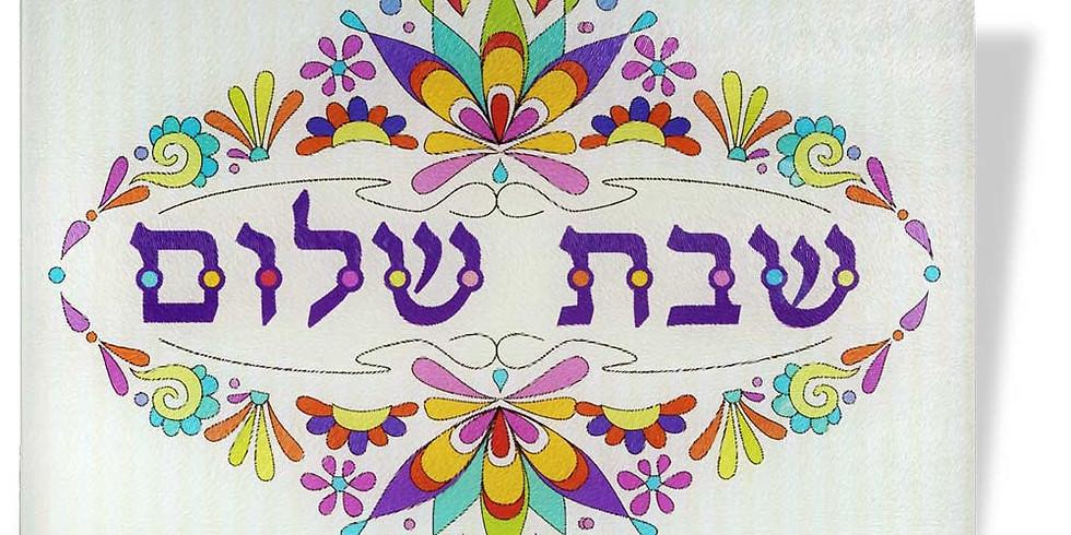 Kabbalat Shabbat  @ Martin and Lauretta's