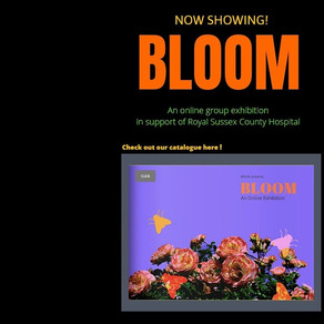 BLOOM: Online Exhibition by BRUSH Gallery launching April 20th 2020