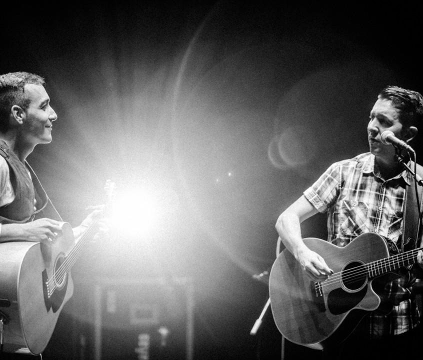 Juan y Marc, talento puro, que gozada oirlos.
