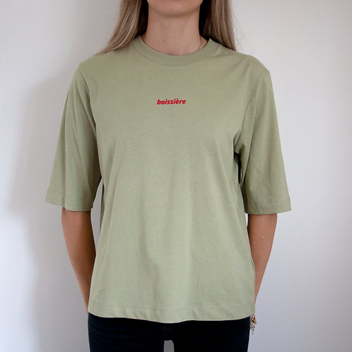 3/4 Sleeved T-Shirt in Sage Green