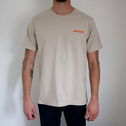 Logo T-Shirt Beige