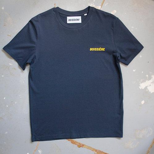Logo T-Shirt Grey/Blue