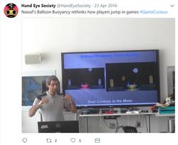 Me Game Curios HES 2016