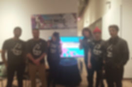 Mindwax team in 2018 at Level Up showcase.