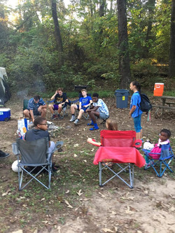 Camping with Kings
