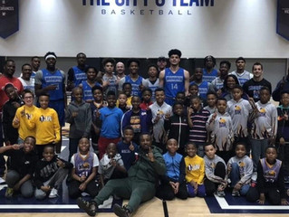 Hanging With The Memphis Tigers