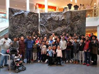 Kings Visiting Civil Rights Museum