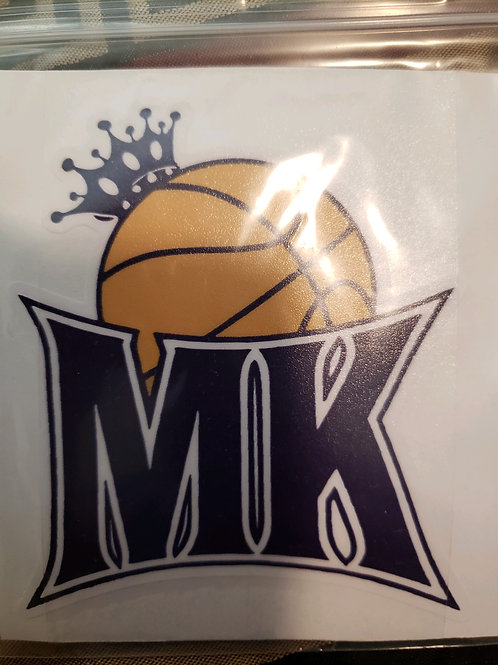 Memphis Kings Car Decal
