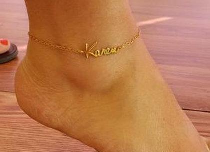 Custom Anklet