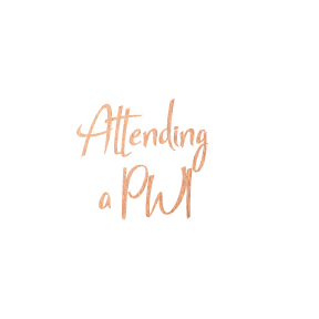 Things I learned while attending a PWI