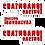 Thumbnail: Chaingang Racing #Rawdawg Stickers 3 Pack