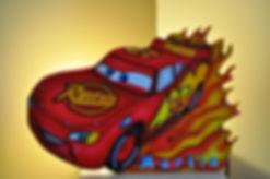 Lampe de chevet Cars décoration chambre d'enfants la déco des pitchouns