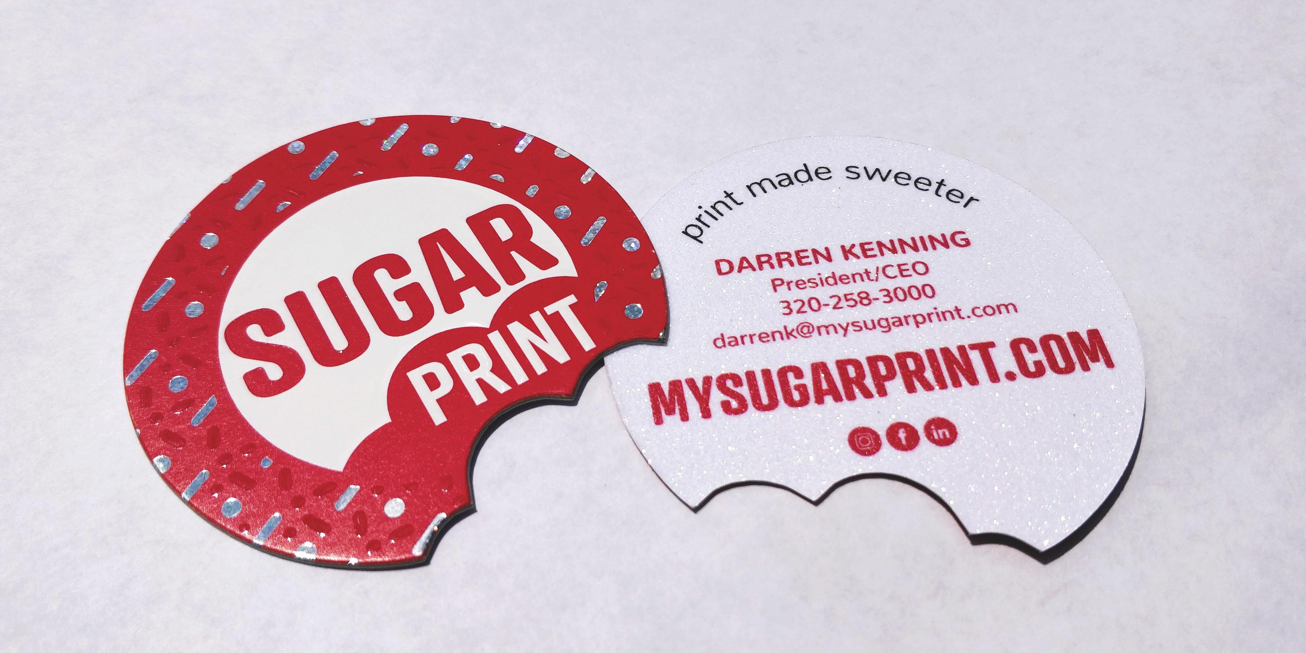 Sugar Print Business Card