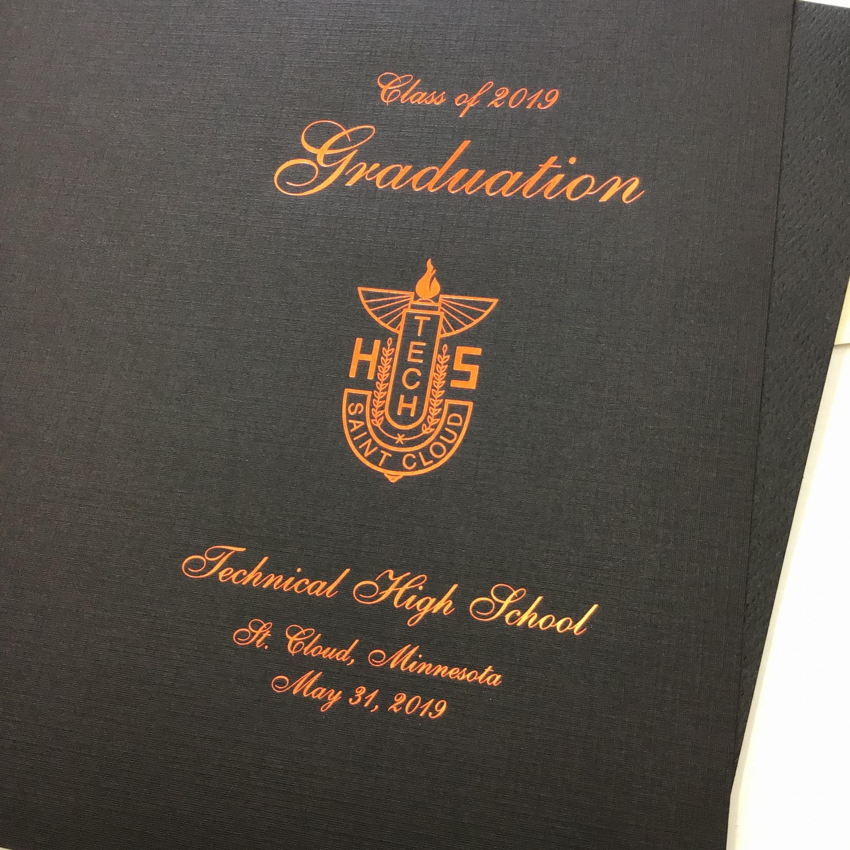 Foil on School Graduation Program