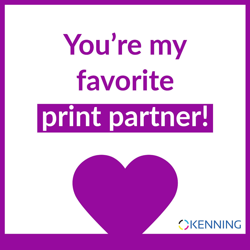 You're my favorite print partner!