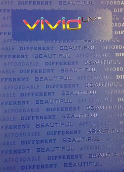 Text Pattern in Vivid UV (Scodix)