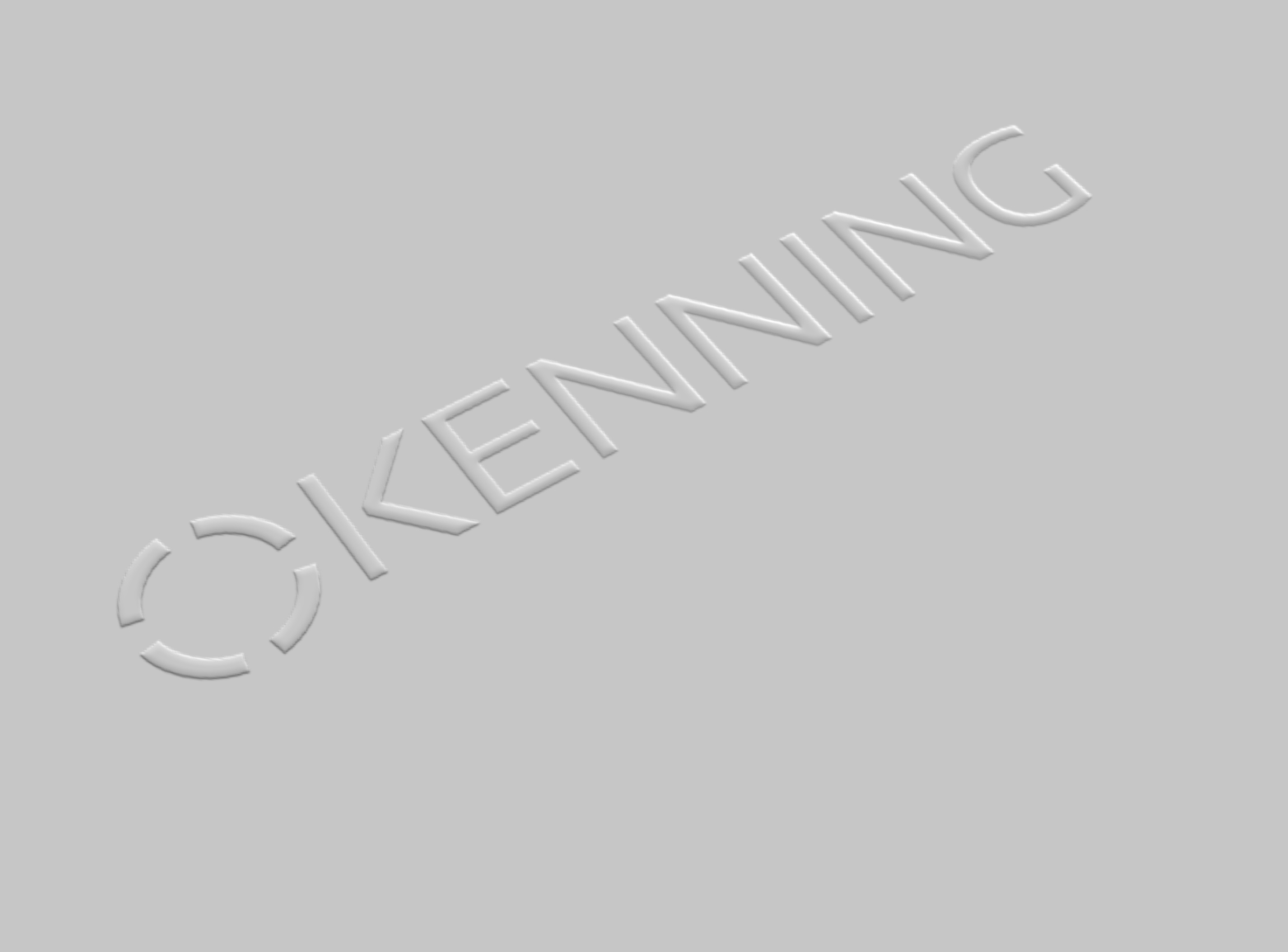 Embossed Kenning Logo