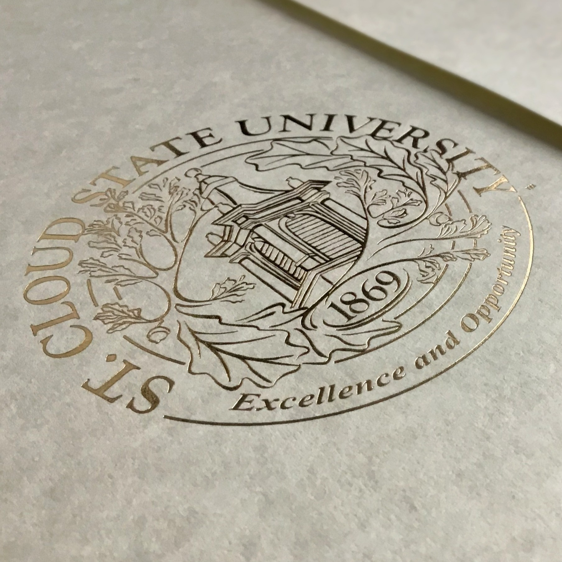 Foil for University Diplomas