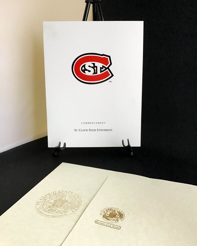 University Folder with Foil