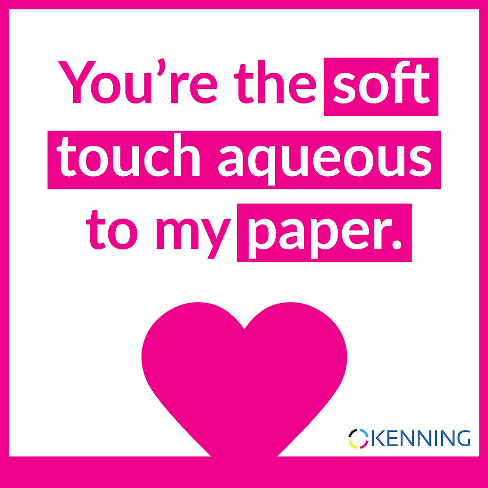 You're the soft touch aqueous to my paper.