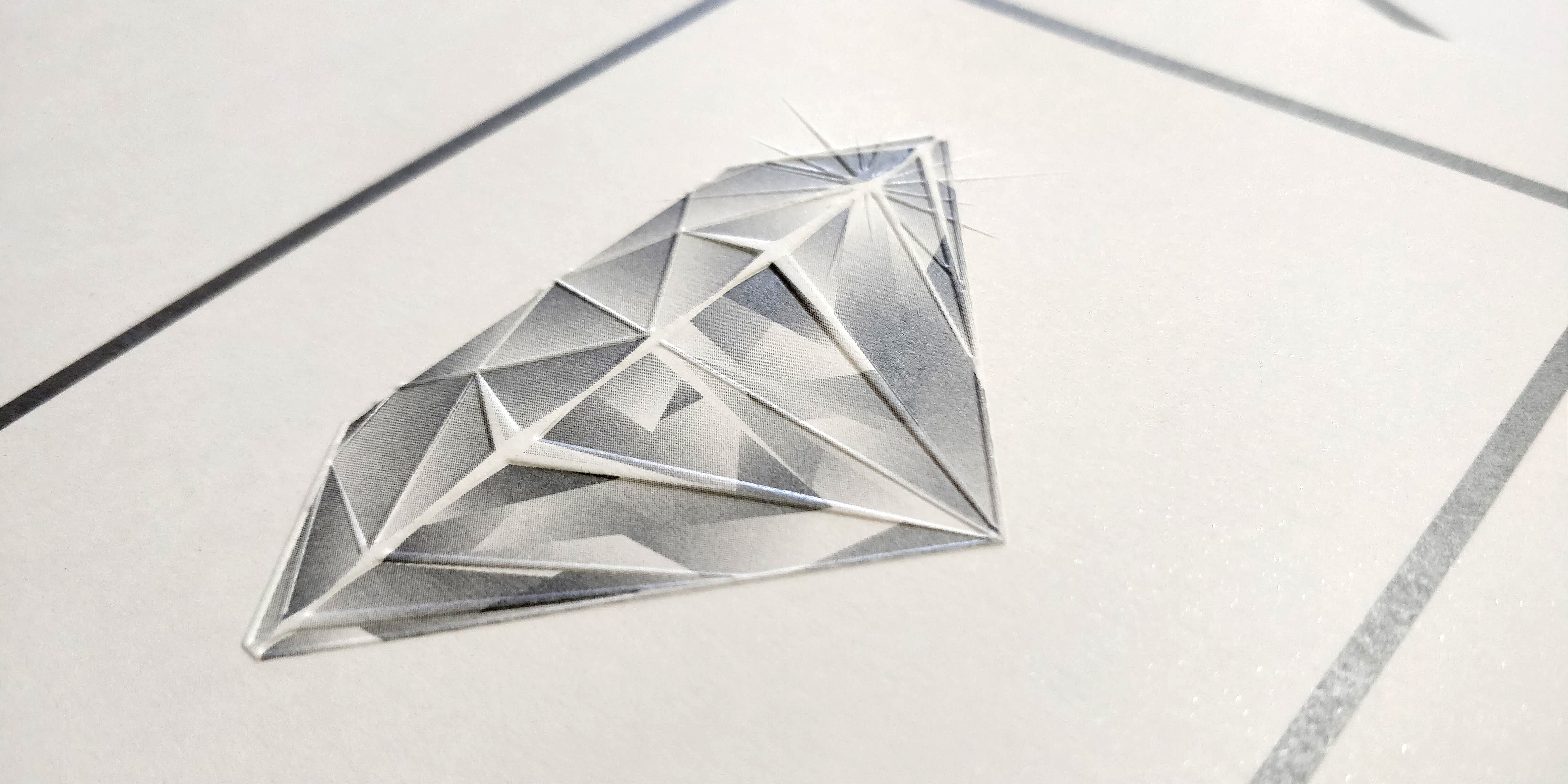 Embossed Diamond