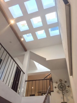 Picture13 skylight over stairway