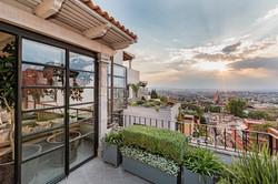 Casa Garita 17B 3rd floor view west