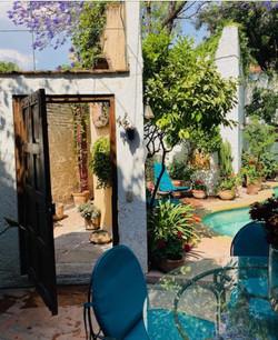 Casa Joanna patio entry