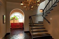 Casa Alegria entry stairway to 2nd floor