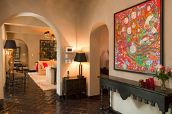 Casa Alegria living room hallway