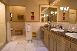 Casa Tres Angeles master bath