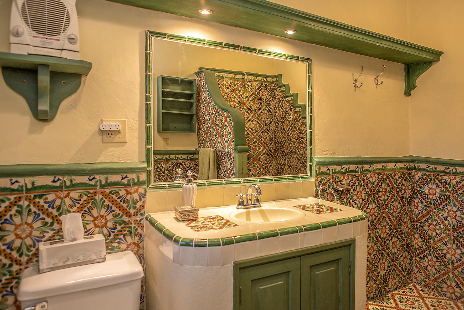 guest bath 2nd floor shower stall