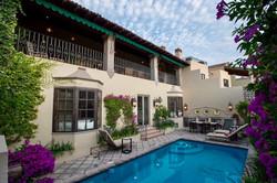 Casa Tres Angeles pool