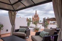 Photo Casa Sollano covered roof terrace