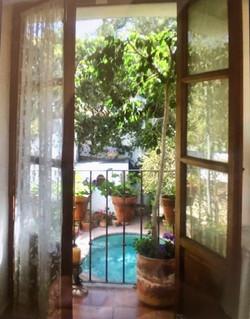 Casa Joanna view from master bedroom balcony