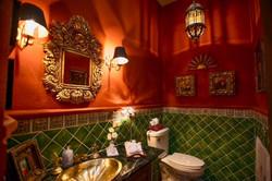 Casa Tres Angeles half bath main level