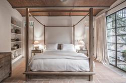 Casa Garita 17B master bedroom king bed