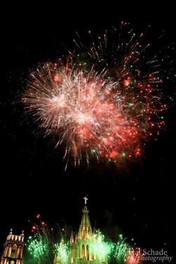 Casa Joanna view fireworks