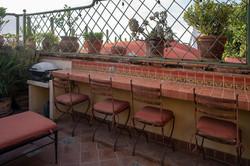 outdoor patio 2nd floor