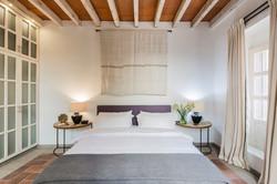 Casa Garita 17B guest room king bed