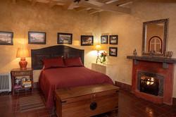guest room queen bed 2nd floor