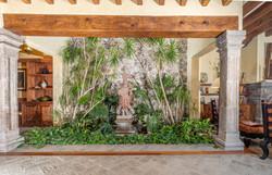 indoor planted garden