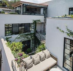 Casa Garita 17B exterior east view of wh