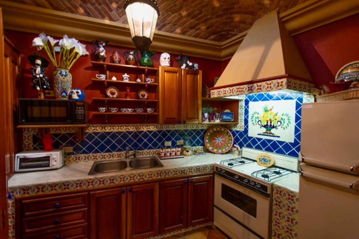 Casa Tres Angeles casita kitchen