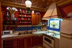 Casa Tres Angeles casita kitchen