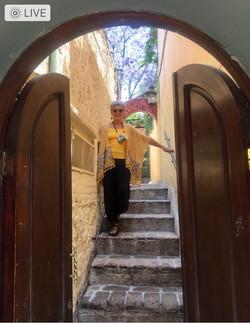 Casa Joanna street entrance into private shared corridor