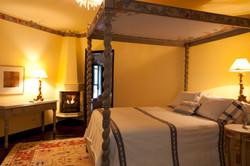 Casa Alegria bedroom 3 2nd floor firepla