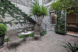 Casa Garita 17B entrance patio garden