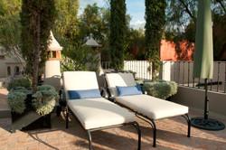 Casa Alegria roof terrace lounge chairs